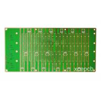 Wholesale F4B High Frequency Green Rigid PCB Service Custom Multi Layer HF PCB Boards 0.6mm from china suppliers
