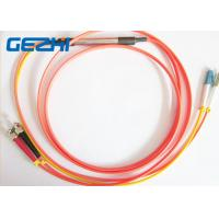 Buy cheap Mode Conditioning Duplex Fiber Optic Patch Cable ( 50 / 125 um ) - LC  to FC from wholesalers