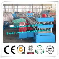 Wholesale 3 Waves Cold Rolled Steel Silo Forming Machine With 17 Forming Stations from china suppliers