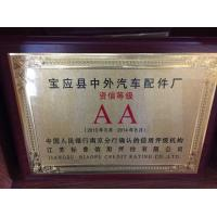 Phika Industrial (Shanghai) Co., Ltd. Certifications