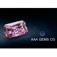 Buy cheap Jewelry / Necklace Radiant Cut Moissanite Pink High Hardness from wholesalers
