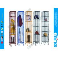 Wholesale Powder Coated Wire retail display stands Mesh Lockers for drying wet clothing from china suppliers