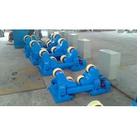 Wholesale Motorized Moving Sand Blasting Pipe Welding Rollers For 400×120mm Rubber Wheels from china suppliers