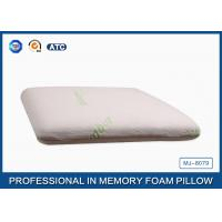 Wholesale Sound Sleep Neck Pain Traditional Memory Foam Pillow Bamboo Fiber Cover from china suppliers