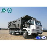 Quality 70 Ton Left Hand Driving 6 X 4 Howo Mine Dump Truck 8460*3200*3475 for sale
