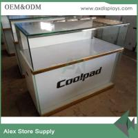 Quality Mobile phone glass showcase glass display counter China supplier for sale