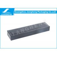 Wholesale Rectangle Black Leather Single Watch Packaging Boxes With Foam Insert OEM from china suppliers