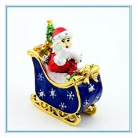 Wholesale Trinket box with Stanta Claus shape for Christmas from china suppliers