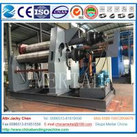 Buy cheap MCLW12NC-50*3500 Hydraulic 4 Roll Plate Rolling/bending Machine with CE cert from wholesalers