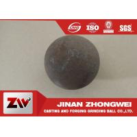 Wholesale Grinding media steel ball with HRC  60-65 , abrasion resistance forged steel ball from china suppliers