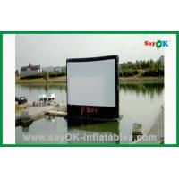 Wholesale Inflatable Movie Screen In Water L4m xH3m Inflatable TV Screen from china suppliers