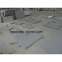 Buy cheap G603,Sesame white,Crystal white granite Kitchen Countertops,Natural stone countertops from wholesalers