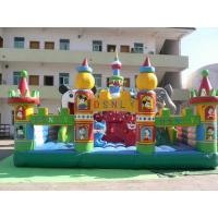 Wholesale Giant Inflatable Amusement Park, Inflatable Fair Land For Residential Park Games from china suppliers