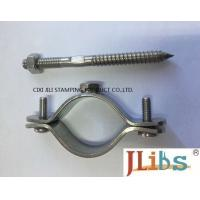Wholesale Wall Mount Pipe Bracket Cast Iron Pipe Clamps With Nut Tapping Screw Nylon Plug from china suppliers