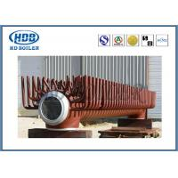 Wholesale Steel Electrical Water Boiler Header Manifolds , Industrial Steam Boiler Parts High Pressure from china suppliers
