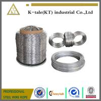 Wholesale Hot dipped galvanized steel wire, ALAMBRE GALVANIZAD STEEL WIRE MANUFACTURE from china suppliers