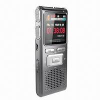 Wholesale New 1.44-inch LCD Screen Voice Recorder with Metal Cover and Taking Video Function from china suppliers