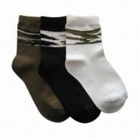 Wholesale Children's Socks, Various Colors, Patterns and Sizes are Available, OEM Orders are Welcome from china suppliers