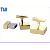 Wholesale Golden Noble Cufflink 16GB USB Stick Tiny Body Huge Data Storage from china suppliers