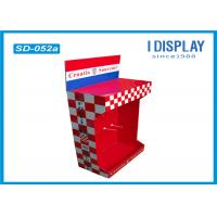 Wholesale Retail Shop Cardboard Peg Hook Display Rack / Pop Up Cardboard Display Stands from china suppliers