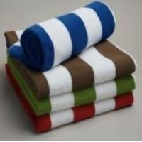 Wholesale Brand Cotton Beach Towels Jacquard Pool With Stripe from china suppliers