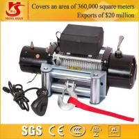 Wholesale 12v 9000lbs mini winch for 4X4 / car winch / electric car winch 12v from china suppliers