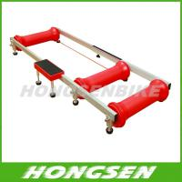 Wholesale Alloy Indoor Bicycle Bike Rollers Folding Resistance Roller trainer from china suppliers