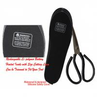 Rechcargeable Battery Heated Insoles OEM / ODM Service Available