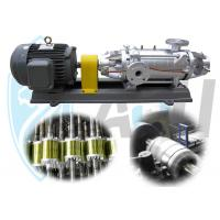 China Variable Speed Horizontal Multistage Centrifugal Pump , Low Pressure Water Pump on sale