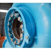 Wholesale High Efficiency Reaction type water turbine Francis Hydro Turbine with Capacity below 20MW from china suppliers