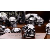 Wholesale Wholesale Fashion Jewelry stainless steel Ring for men fashion Skull Ring Classic E24 from china suppliers