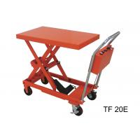 Wholesale Fireproof Electric Hydraulic Lift Table , 200kg Industrial Lift Tables For Logistics from china suppliers