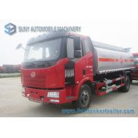 Wholesale FAW 4x2 Two Axle Oil Tank Trailer Gasoline Tanker Truck CA5160GYYP62K1L2E4 from china suppliers