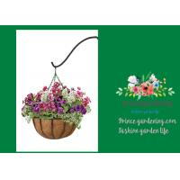 """Wholesale Outdoor Metal Palm Hanging Garden Pots With 12"""" Diameter Liner from china suppliers"""