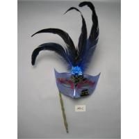 Wholesale Feathers Eye Mask For Halloween Christmas Venetian Masquerade Party from china suppliers