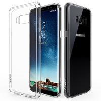 Wholesale Samsung Galaxy S8 Crystal Clear Case S8 Scratch Resistant Case Flexible TPU Gel Rubber Soft Silicone Cover for Galaxy S8 from china suppliers
