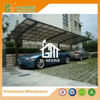 Quality 1100 X 300 X 230CM Black Color Easy DIY Polycarbonate & Aluminum Carport for sale