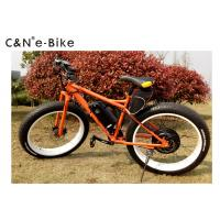 Wholesale Off Road Fat Tire Electric Bicycle , 25kph Speed Electric Fat Tyre Bike from china suppliers