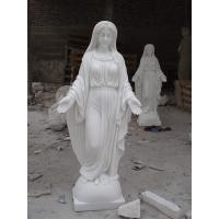 Wholesale nun white marble figure statue from china suppliers