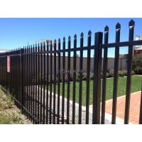 Wholesale 1800mm x 2400mm ,2100mm x 2400mm garrison tubular fencing ,steel high security hercules fencing from china suppliers