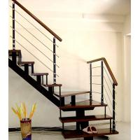 Wholesale Staircase wood steel baluster/handrail from china suppliers
