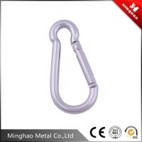 Wholesale MH-GCY18 New style silver mountain climbing hook,metal carabiner snap hook from china suppliers