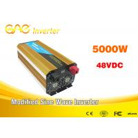 Wholesale FCC Certificated Grid Home Small Portable Power Inverter For Car 5000W 48v To 110V 220V 230V from china suppliers