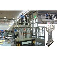 Buy cheap Four Mast Scissor Lift Work Platform Self Propelled 10m For Office Buildings from wholesalers