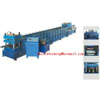Wholesale 15KW Highway Steel Forming Machine 7 Rollers Leveling For W Beam Guardrail from china suppliers
