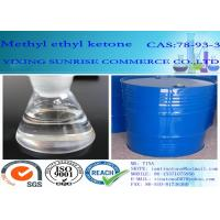 Wholesale Transparent Pharmaceutical Intermediates MEK Methyl Ethyl Ketone CAS NO 78-93-3 from china suppliers
