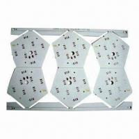 Wholesale Aluminum Base PCB with 1 Layer, 1.6mm Thickness and HASL Lead-free Surface Treatment from china suppliers