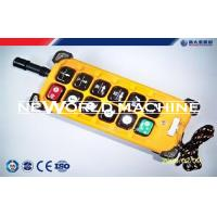 Wholesale Industrial remote control F23 - A++ wireless radio remote control for electric hoist crane from china suppliers