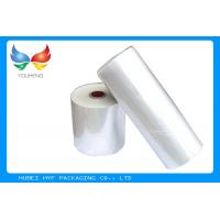 Wholesale Soft PET Shrink Film Transparent Blow Clear with High Shrinkage , Low Density from china suppliers