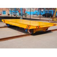 Wholesale AGV automatic steel rail mounted car moving equipment for parts handling from china suppliers